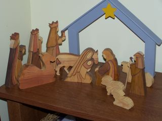plans for wood nativity