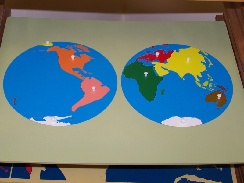 My Montessori Journey Continent Map Work - Free continent maps